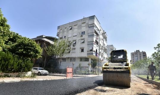 Etiler'de asfalt çalışması sona yaklaştı