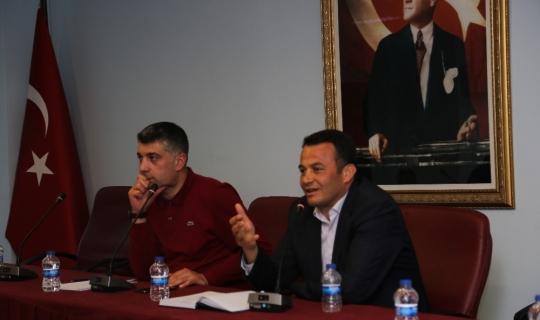 Kaş'ta turizm sektör toplantısı yapıldı