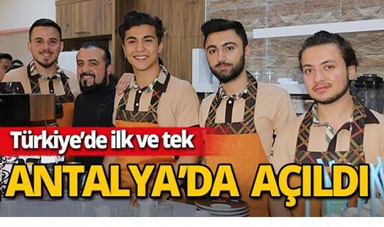 Türkiye'nin ilk ve tek barista okulu Antalya'da