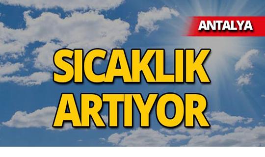 20 Mayıs 2019 Antalya hava durumu