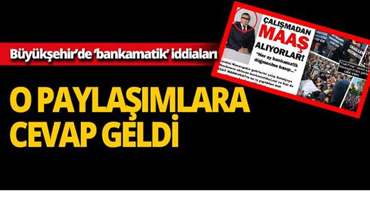 Antalya Büyükşehir Belediyesi Gelir Şube Müdürü hakkında akılalmaz iddialar!