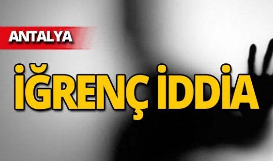 Antalya'da iğrenç iddia! Çocuk anlattı, şahıs tutuklandı