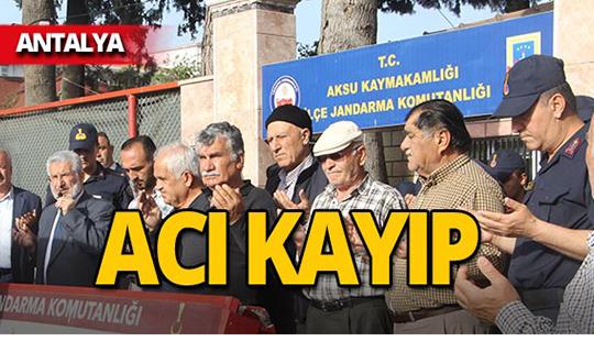 Antalya'da jandarmayı yasa boğan ölüm