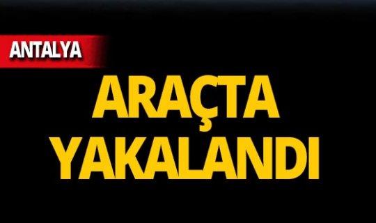 Antalya'da operasyon: 2 tutuklama!