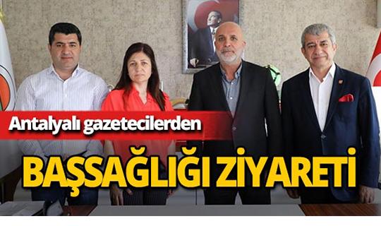 AGC Başkanı Yeni'den Başkan Çavuşoğlu'na başsağlığı ziyareti