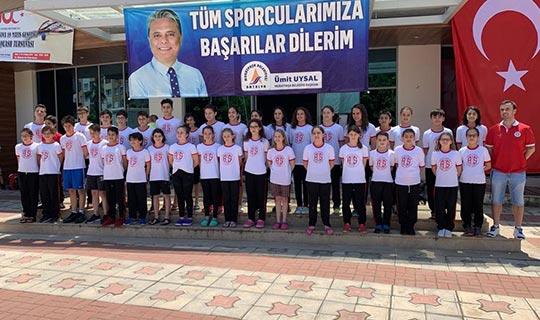 Antalyaspor sporcuları 157 baraj geçti!