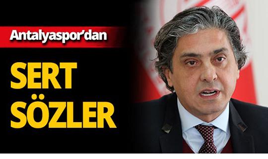 Antalyaspor'dan Mete Kalkavan'a sert tepki!
