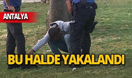 Aranıyordu, polis bu halde yakaladı!