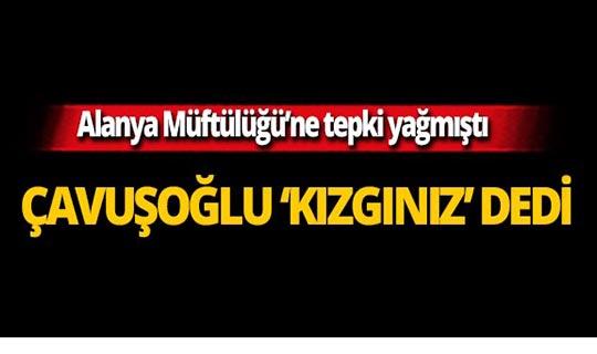 Başkan Çavuşoğlu'ndan tepki çeken paylaşımla ilgili açıklama!