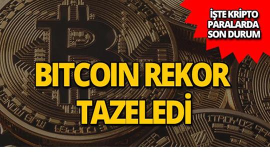 Bitcoin 8000 doları geçerek rekor tazeledi!