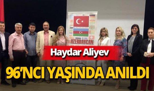 Haydar Aliyev, 96'ncı yaşında anıldı