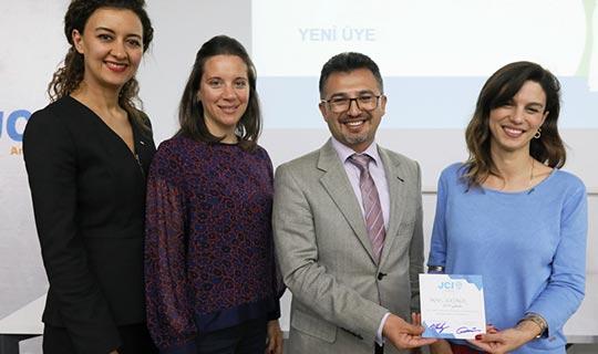 """JCI Antalya'dan """"Kendi Hayatının Lideri Olmak"""" semineri"""