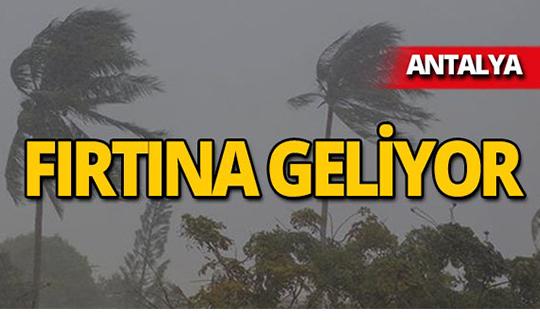 Meteoroloji uyardı: Fırtına geliyor!