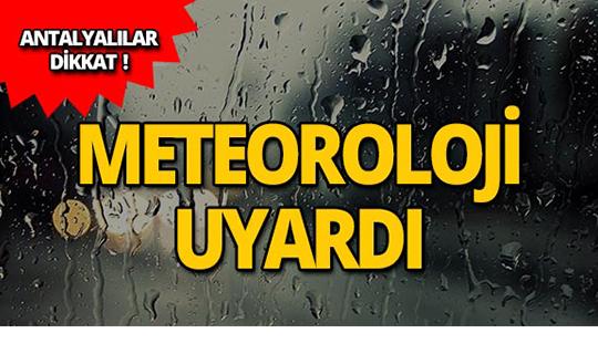 Meteoroloji uyardı: Yağışlı geçecek!