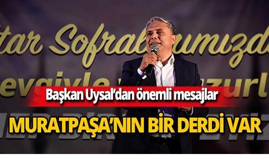 Muratpaşa'da 2 bin kişi orucunu birlikte açtı