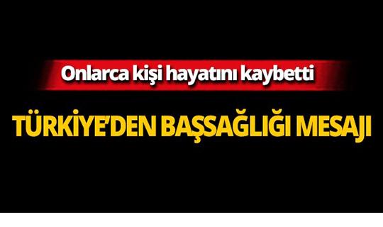 Türkiye'den uçak faciasıyla ilgili başsağlığı mesajı