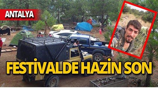 Antalya'da festival hazin son ile bitti!
