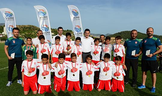 Antalya'da U12 Futbol Ligi sona erdi