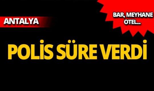 Antalya Valiliği'nden flaş karar: Para cezası uygulanacak!