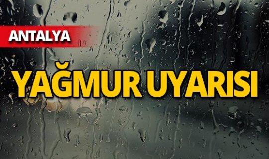 Antalyalılar dikkat! Sıcaklık artıyor, yağmur geliyor