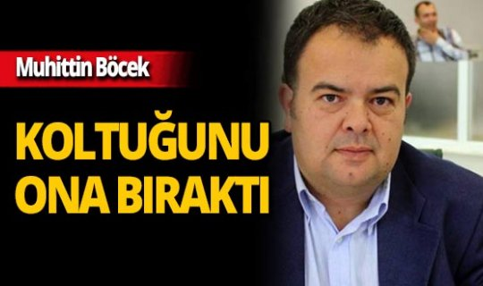 Başkan Böcek, koltuğunu Alanyalı Meclis Üyesine bıraktı!