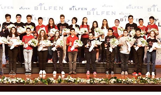 Bilfen'den 26 Türkiye birincisi!