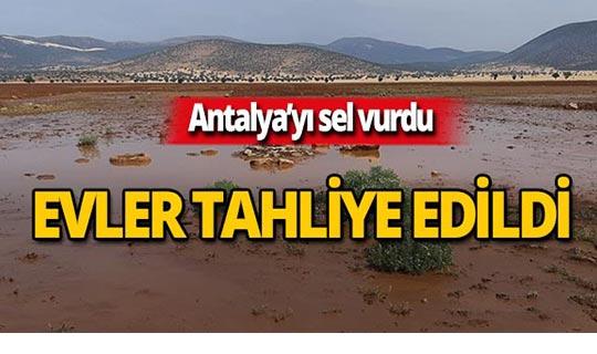Dolu ve sel Antalya'yı yıktı geçti!