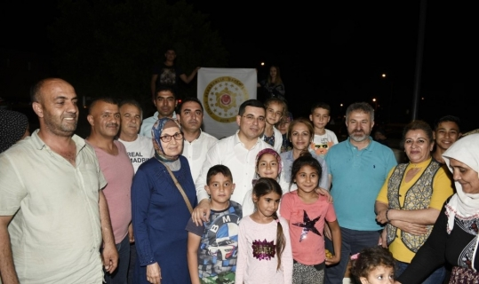 Kepez'de binlerce kişi Çelebi Sultan Mehmed Cami'nde buluştu