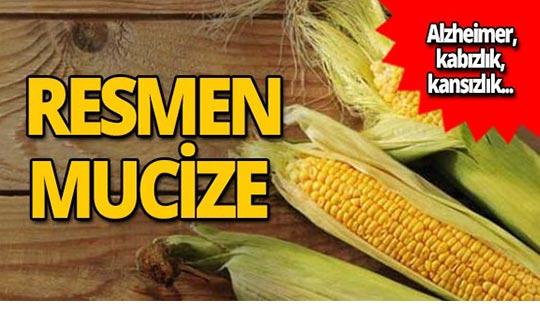 Mucize besin mısırın inanılmaz faydaları