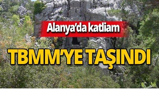Alanya Colybrassus Antik Kenti TBMM gündeminde!