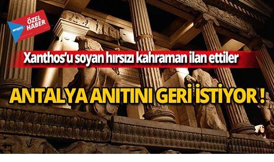 Antalya anıtını geri istiyor!