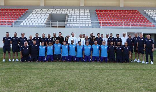 Antalyaspor yönetimi ve altyapısı bir araya geldi