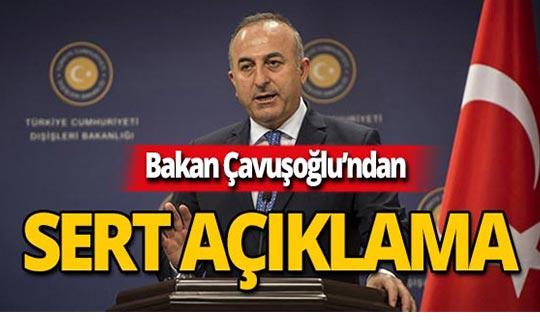Bakan Çavuşoğlu'ndan Güney Kıbrıs'a sert mesaj!