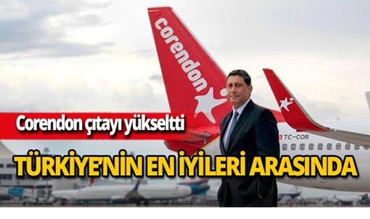 Corendon Airlines Türkiye'nin en büyükleri arasında!
