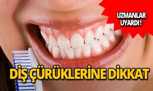 Diş çürüğü deyip geçmeyin!