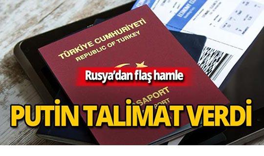 Rusya'dan flaş vize hamlesi!