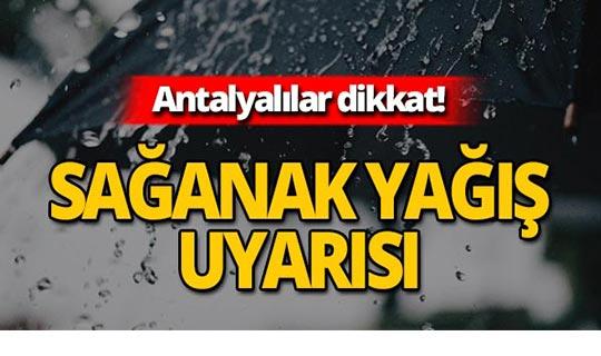 18 Ağustos 2019 Antalya hava durumu