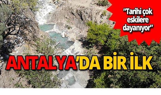 Antalya'nın ilk jeotermal su kaynağı bulundu!