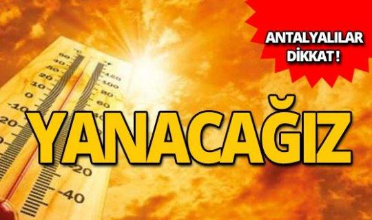 Antalyalılar dikkat! Meteoroloji'den önemli uyarı