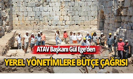 ATAV Başkanı Gül Ege'den yerel yönetimlere çağrı