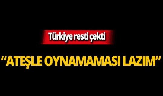 Bakan Çavuşoğlu'ndan sert açıklama!