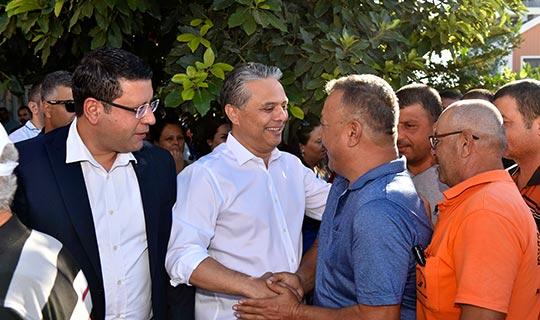 Başkan Uysal'dan çalışanlarına bayram sürprizi