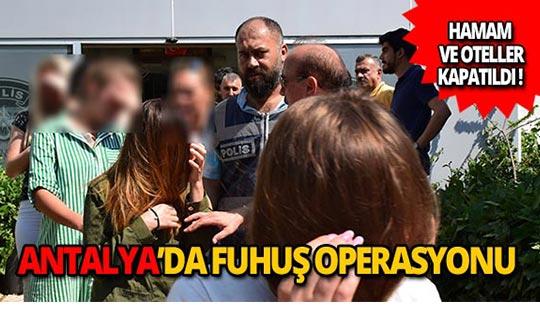 Fuhuş operasyonu: 66 kadın sınır dışı edildi!
