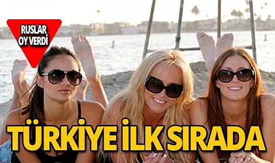 Rus kadınlar aşkı Türkiye'de buluyor!