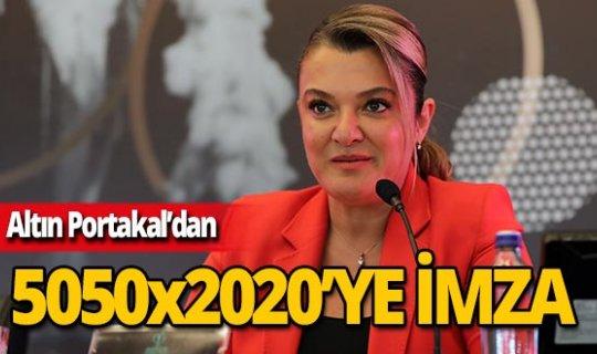Altın Portakal'dan sektörde cinsiyet eşitliğine destek!