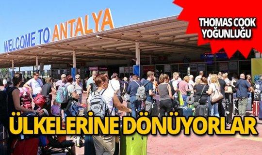 Antalya'da konaklayan 4 bin 920 misafir ülkelerine gönderildi