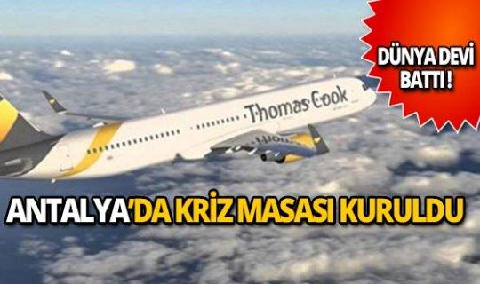 Antalya'da kriz masası kuruldu!