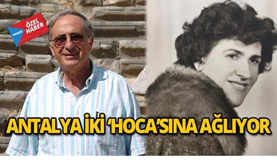 Antalya, hocalarına ağlıyor