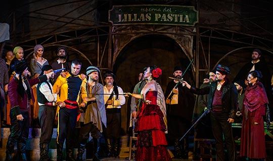 Aspendos Opera ve Bale Festivali 'Carmen' ile başladı