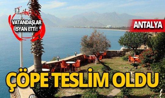 Atatürk Parkı'nın son hali içler acısı